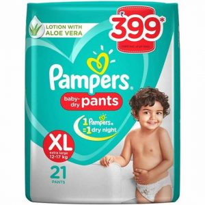 Pampers pants XL21