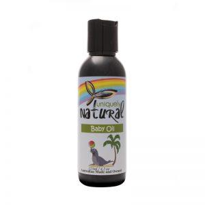 Uniquely Natural Baby Massage Oil 125ml